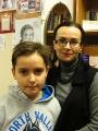 Шахматист Никита Лебедев и его мама - Ирина Лебедева